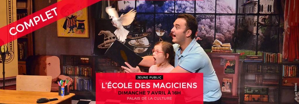 L'ÉCOLE DES MAGICIENS
