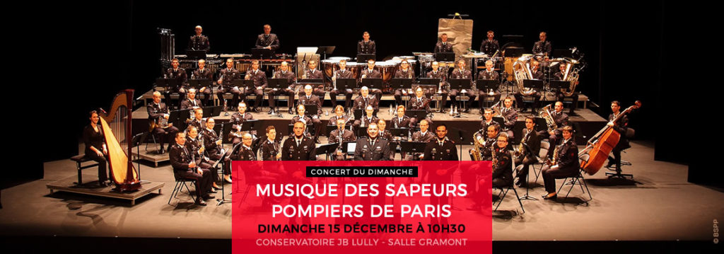 MUSIQUE DES SAPEURS-POMPIERS DE PARIS