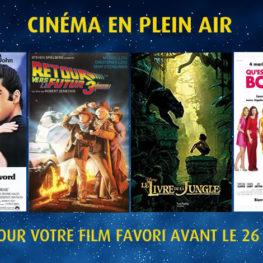 Choisissez votre film en plein air