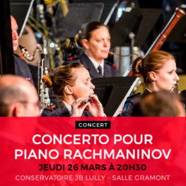CONCERTO POUR PIANO RACHMANINOV