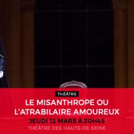 LE MISANTHROPE OU L'ATRABILAIRE AMOUREUX