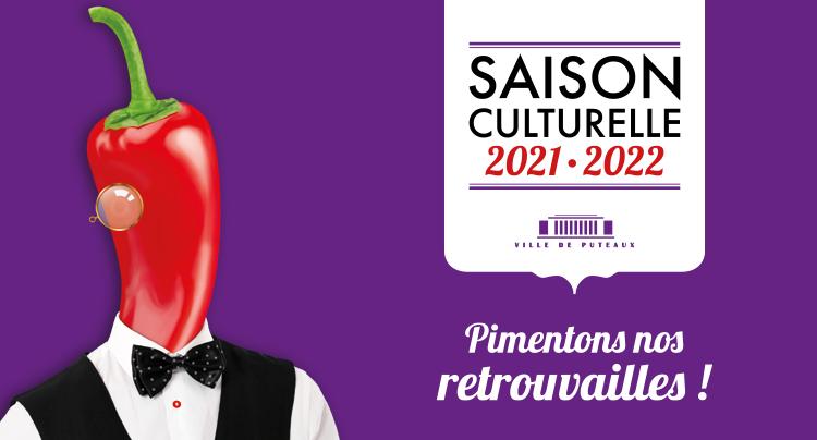 Inscription présentation de la saison culturelle 2021-2022