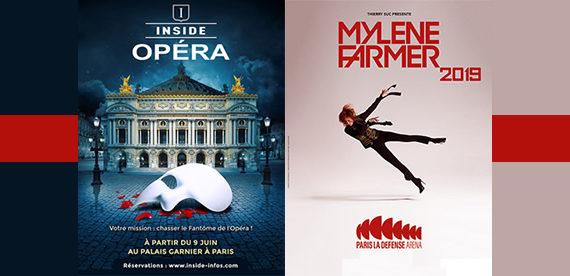 Puteaux Spectacles: Jenifer, Immersive escape game et Mylène Farmer