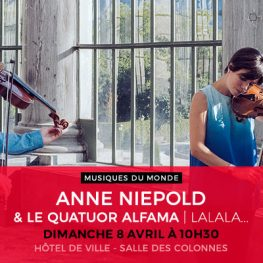 ANNE NIEPOLD & LE QUATUOR ALFAMA